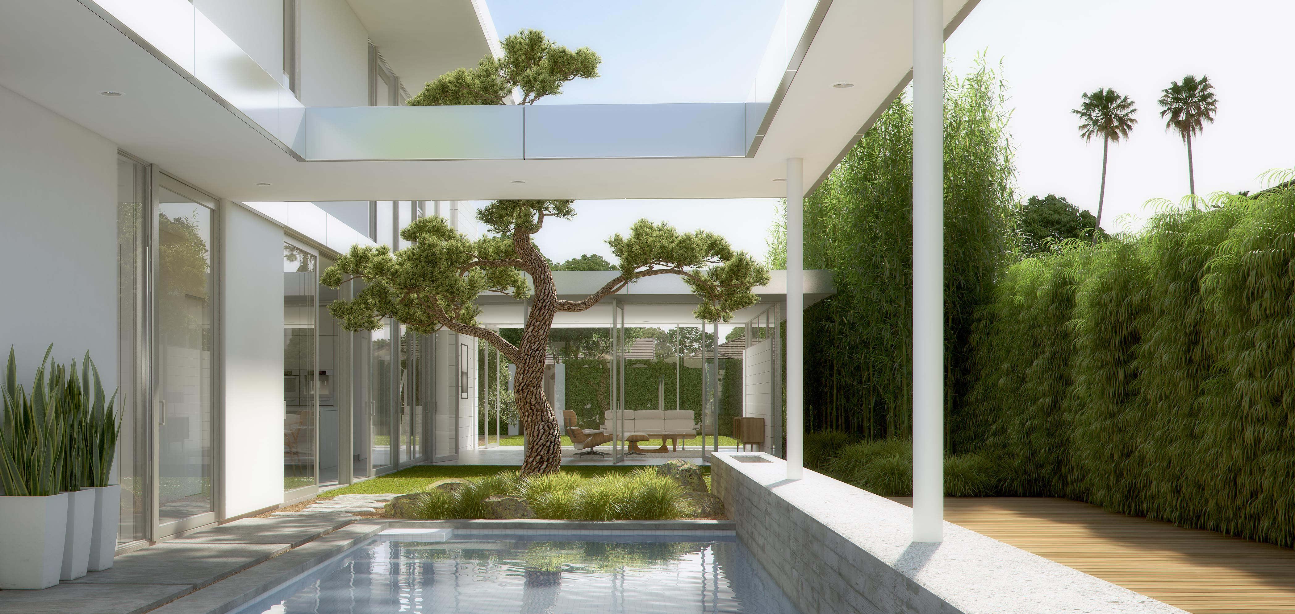 Santa Monica Residence Terrace