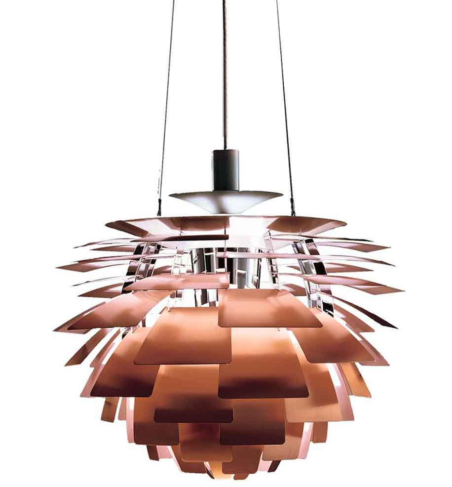 Artichoke in Copper - Poul Henningsen