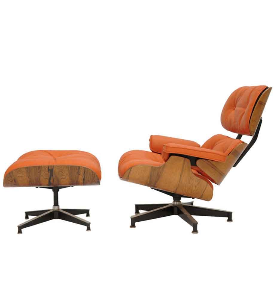 Eames Lounge Chaise & Ottoman