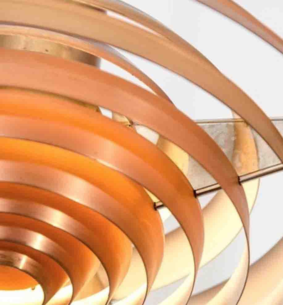 Plate Pendant detail - Poul Henningsen