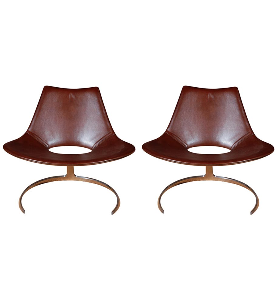 Set of Scimitar Chairs - Fabricius & Kastholm