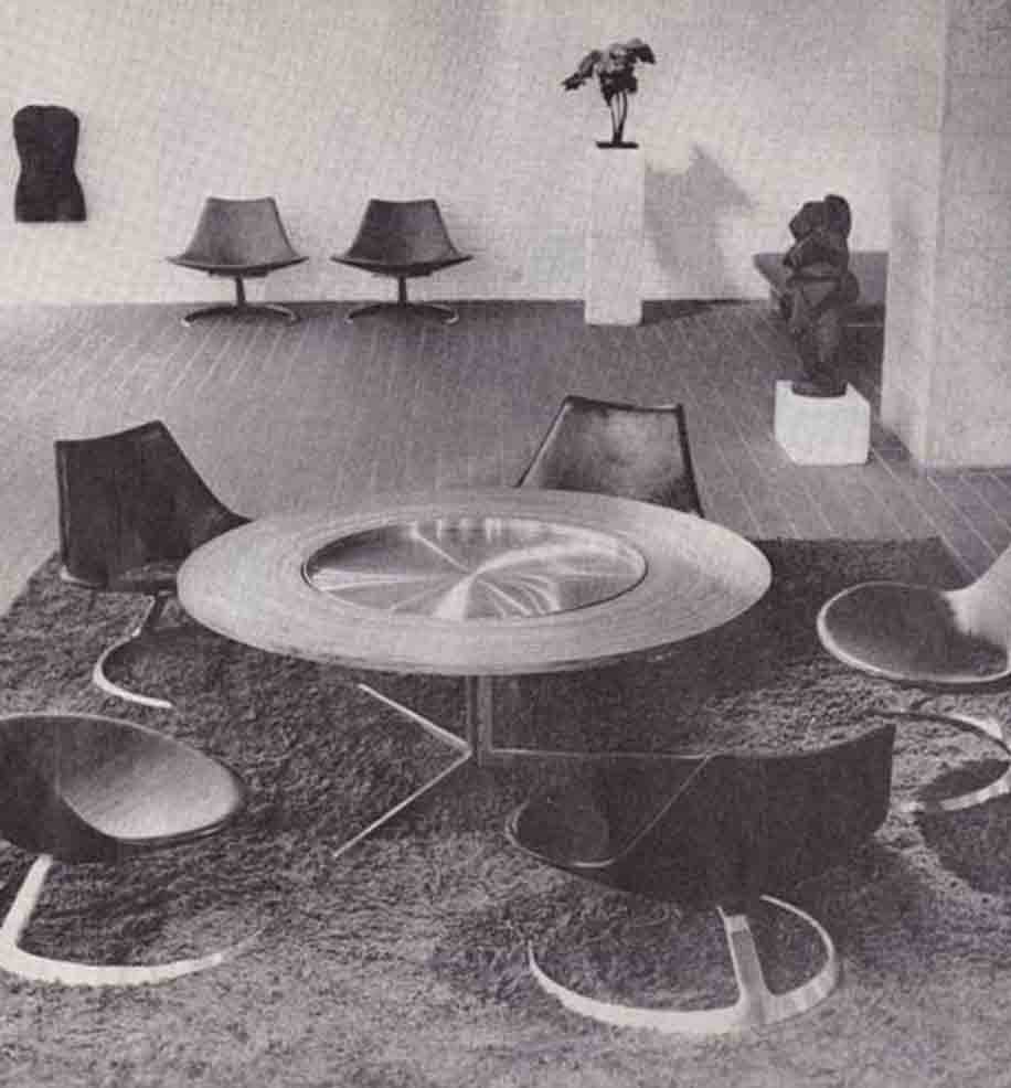 Scimitar Chairs - Fabricius & Kastholm